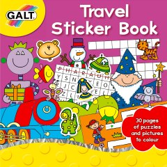 Travel-Sticker-Book